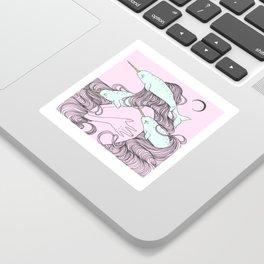 Narwhale Sticker