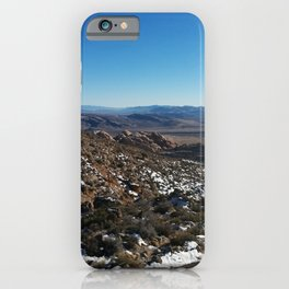 Beautiful Mountains | Bright Blue Sky | Snow | Outdoors | Nature iPhone Case