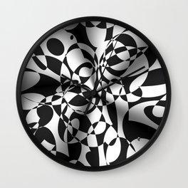 Op Art Boogaloo Wall Clock