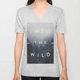 Into the wild Unisex V-Neck