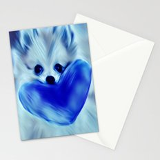Hold my Heart Pomeranian Stationery Cards