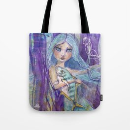 Plenty more Fish in the Sea by Jane Davenport Tote Bag