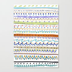 Cool Pattern. patterns, illustration, Canvas Print