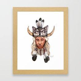 WOLF / Tyler, The Creator Framed Art Print