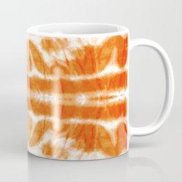 Orange Tie-Dye Twos Coffee Mug