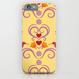 Pattern Floral Decoration iPhone Case