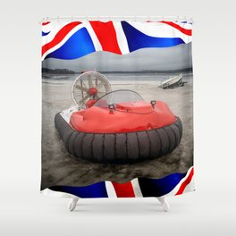 HOVERCRAFT - Made in England Shower Curtain