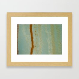 Drips Framed Art Print