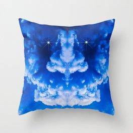 Thunderstorm Demon Throw Pillow