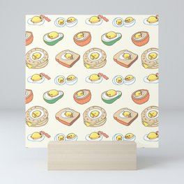 Pug Egg Recipes Mini Art Print