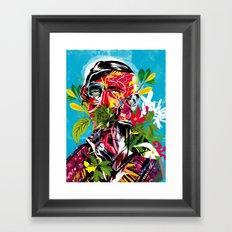 Human nature 02 Framed Art Print