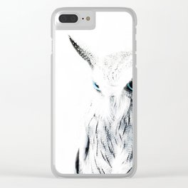 Owl II Clear iPhone Case