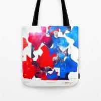 texas Tote Bags featuring Texas by Evan Hawley