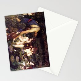 John William Waterhouse's Halas and the Nymphs 1896 Stationery Cards