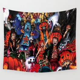 halloween one piece Wall Tapestry