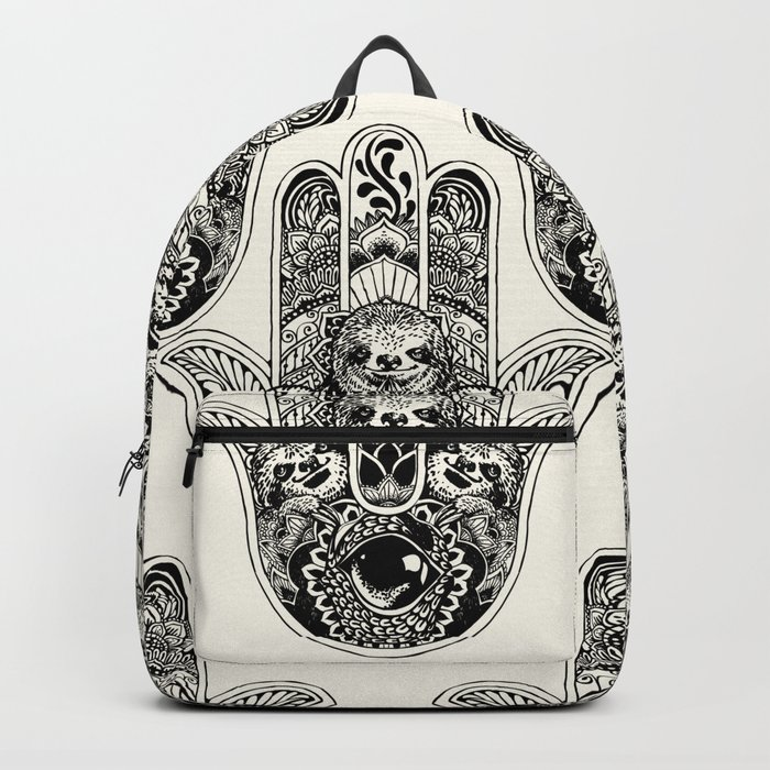 Hamsa Hand Sloth Backpack