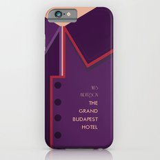 Wes Anderson's Grand Budapest Hotel - Minimal Movie Poster iPhone 6s Slim Case