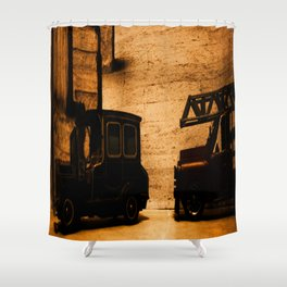 Lost Cars Six Shower Curtain