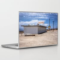 cafe Laptop & iPad Skins featuring cafe by petervirth photography