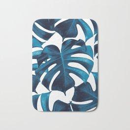 Tropical Monstera Leaves Dream #8 #tropical #decor #art #society6 Bath Mat