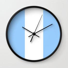 Flag of Guatemala 6 -Guatemalan,Mixco,Villa Nueva,Petapa,tropical,central america,spanish,latine Wall Clock