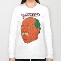 cleveland Long Sleeve T-shirts featuring Squonk Grover Cleveland  by @DrunkSatanRobot