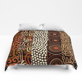 Geometric African Pattern Comforters