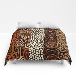 Geometric African Pattern Comforters