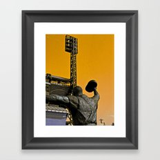 Maz 1960 World Series Hero Framed Art Print