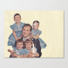 He's a family man Canvas Print