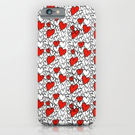 Heart Doodle iPhone Case