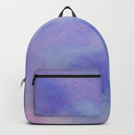 Watercolour Galaxy - Purple Speckled Sky Backpack