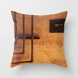 Access Area Throw Pillow