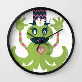 Monster Fun Wall Clock