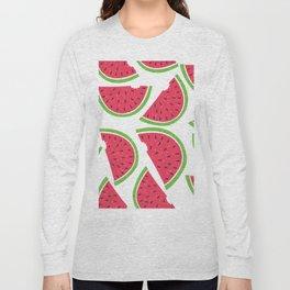 Watermelon Summer Long Sleeve T-shirt