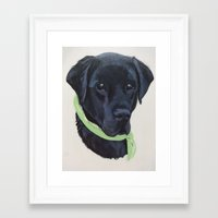 the flash Framed Art Prints featuring Flash by Ginny M