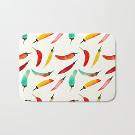 Hot chili peppers Bath Mat