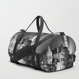 shot on film .. belfry night reflection Duffle Bag