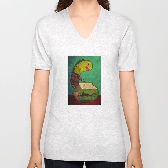 one lost soul Unisex V-Neck