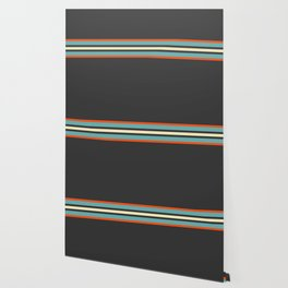 Classic Retro Stripes Amikiri Wallpaper