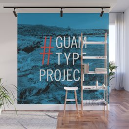Guam Type Project Logo Wall Mural