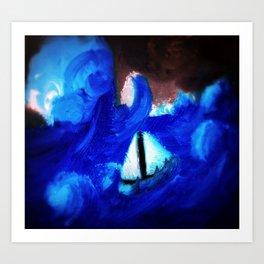 Winter Ocean Art Print