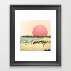 Proud Summer Sun Framed Art Print