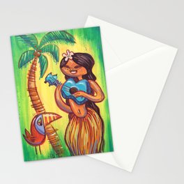 Ukulele Song Stationery Cards
