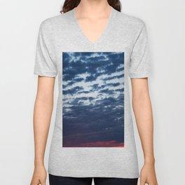 Sky on Fire Unisex V-Neck