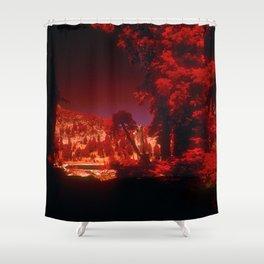 """Fantasy Secret Hideaway"" Shower Curtain"