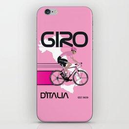GIRO D'ITALIA Grand Cycling Tour of Italy iPhone Skin