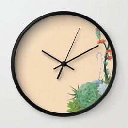 Beauty Lies in Sand Wall Clock