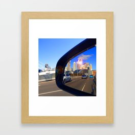 Rear Vision I Framed Art Print
