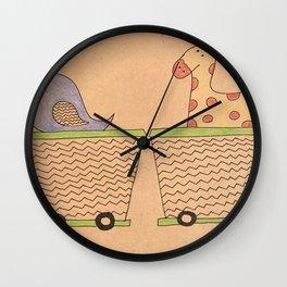 Fun ride Wall Clock